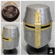 Crusader/Great Helmet - 16 Gauge